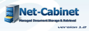 Net-Cabinet, managed document storage and retrieval